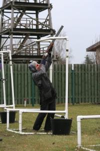 Juniors Renārs Strazdiņš 17.novembrī 2.laukumā cīnoties ar izaicinošo D mērķi.