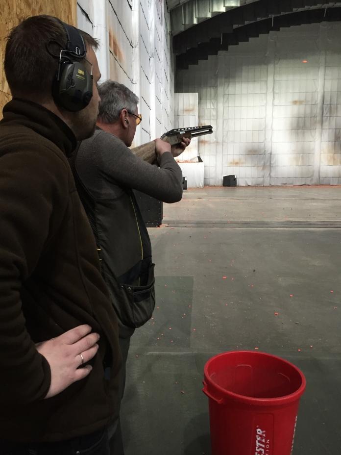Šautuvē - testējot jauno laidi.