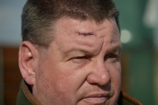 26 times shooting world champion George Digweed was attacked in his own home by four masked men. They too money, trophies and shotguns. He sustained an injury to the head where one of them hit him. Free use. Please credit: GeorgeDigweed.com / FieldsportsChannel.tv